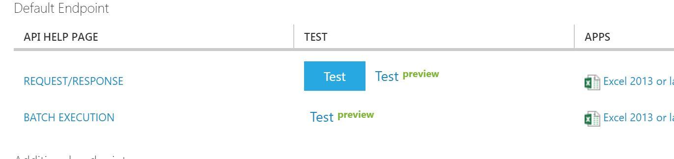 web service test